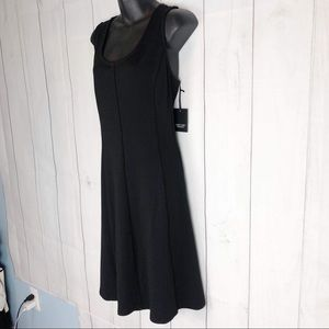 SIMPLY VERA LITTLE BLACK DRESS NWT FIT AND FLARE